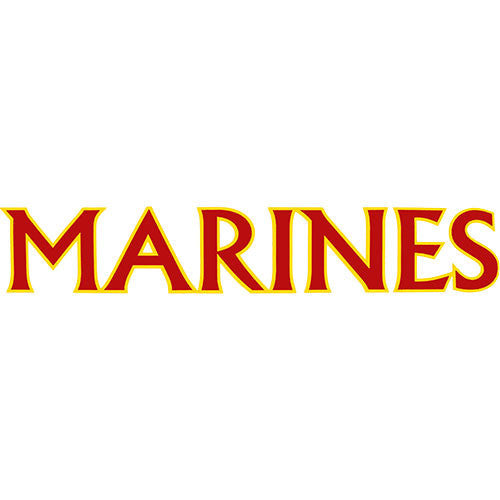 Marines 15 Inch Clear Vinyl Transfer