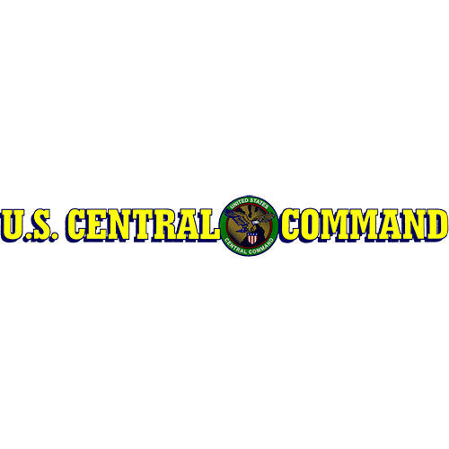 U.S. Central Command Clear Window Strip