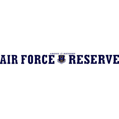 Air Force Reserve Clear Window Strip