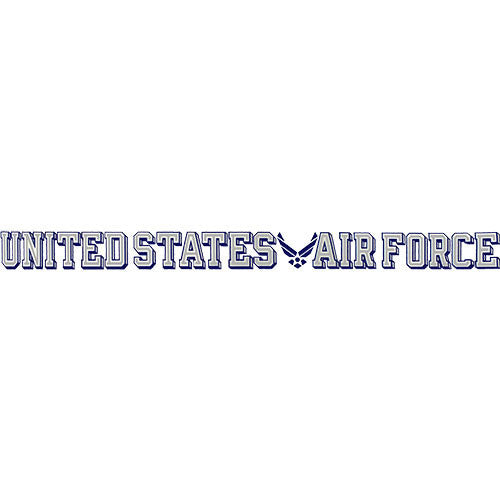 U.S. Air Force Wing Logo Clear Window Strip