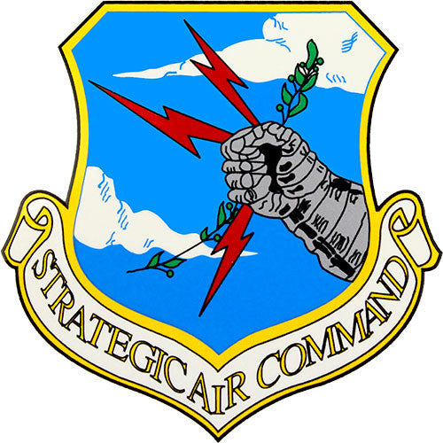 Strategic Air Command 3.5 Inch Clear Decal