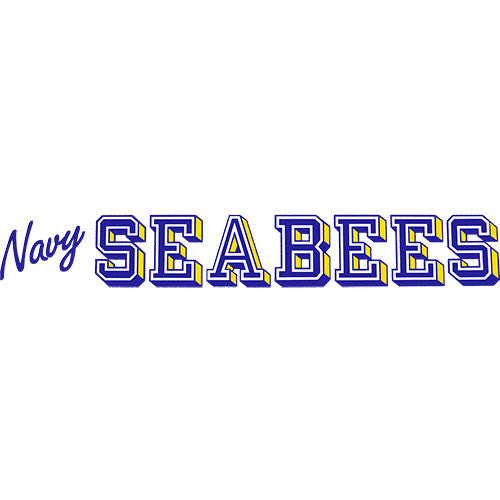 Navy Seabee Clear Window Strip