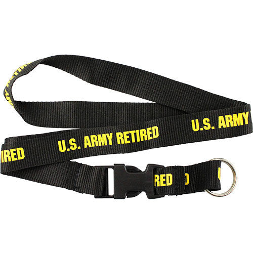 Army Retired Lanyard