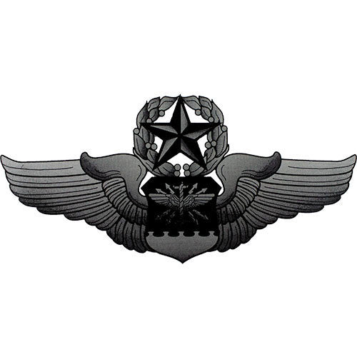 Master Navigator/Observer Badge Clear Decal