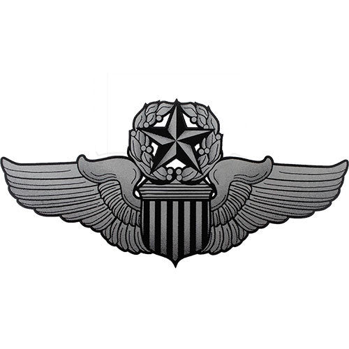 Command Pilot Badge Clear Decal
