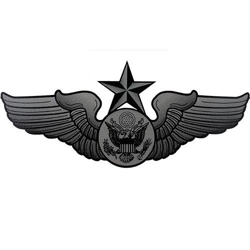 Senior Enlisted Aircrew Badge Clear Decal