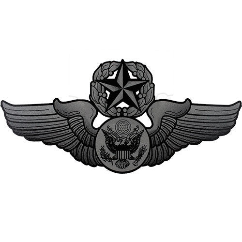 Chief Enlisted Aircrew Badge Clear Decal