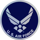 Air Force Hap Arnold Wings Small Prism Decal