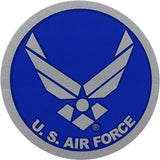 Air Force Hap Arnold Wings Small Glitter Decal
