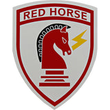 Civil Engineer Red Horse Clear Decal