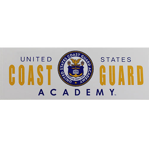 Coast Guard Academy Bumper Sticker