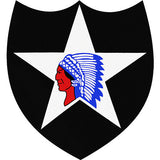 2nd Infantry Division Vinyl Decal