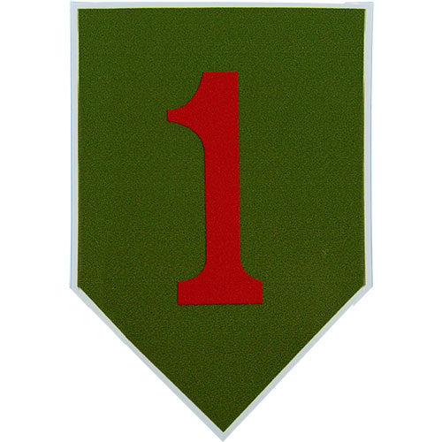 1st Infantry Division Vinyl Decal