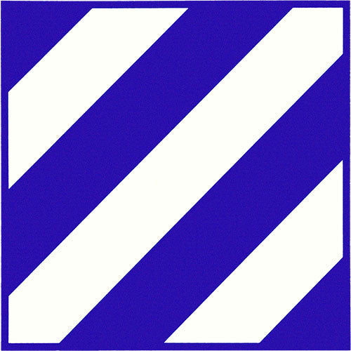 3rd Infantry Division Vinyl Decal