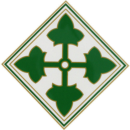 4th Infantry Division Vinyl Decal