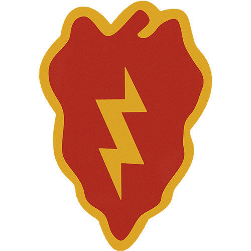 25th Infantry Division Vinyl Decal