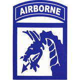 18th Airborne Division Vinyl Decal