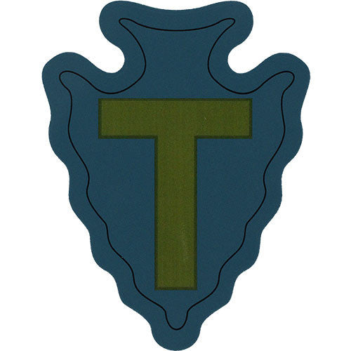 36th Infantry Division Vinyl Decal