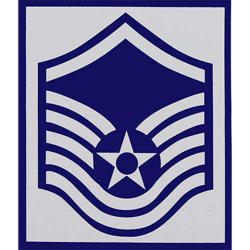 Air Force E-7 Master Sergeant Rank Sticker