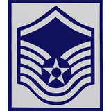 Air Force Enlisted Rank Vinyl Sticker