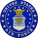Air Force with Seal Decal