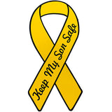 Support Our Troops Yellow Ribbon Keep My Son Safe 8