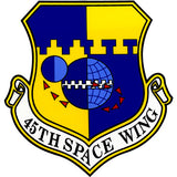 45th Space Wing Clear Decal