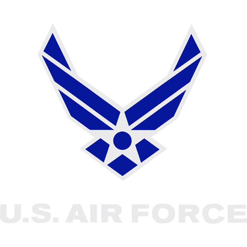 Air Force Wings Clear Decal