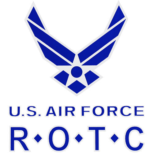 U.S Air Force R.O.T.C Clear Decal