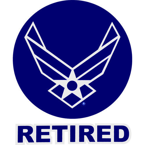 Air Force Retired With Hap Arnold Wing 4