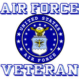 Air Force Veteran With Crest 3.5