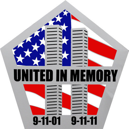 United in Memory 9/11 Twin Towers 5