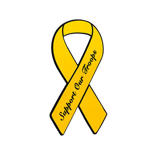 Support Our Troops Yellow Ribbon 4