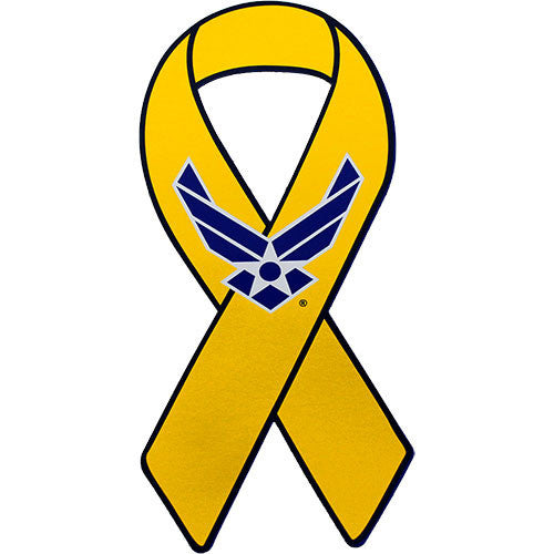 Support Our Troops Yellow Ribbon Air Force Wing 8
