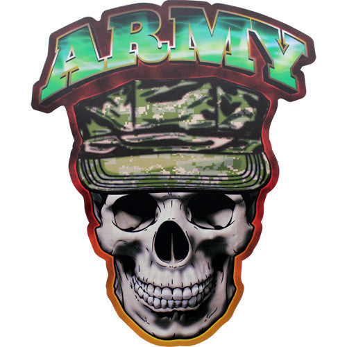 Army Skull Digital 7