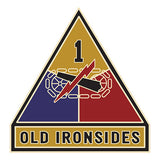 CSIB Sticker - 1st Armored Division Decal