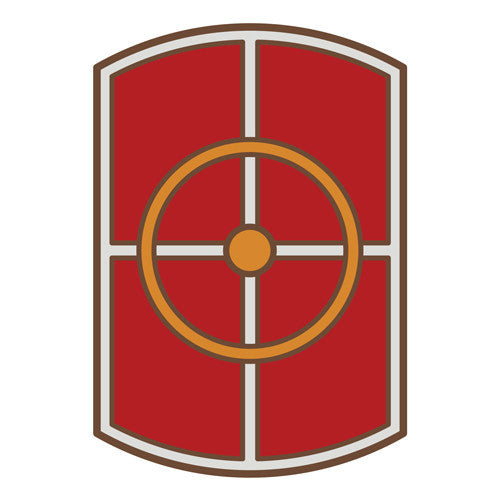 Combat Service Identification Badge Sticker - 420th Engineer Brigade Decal