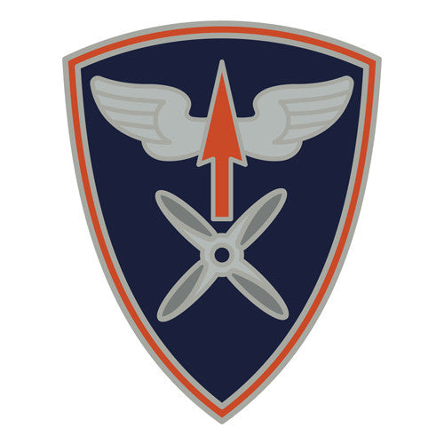 Combat Service Identification Badge Sticker - 110th Aviation Brigade Decal