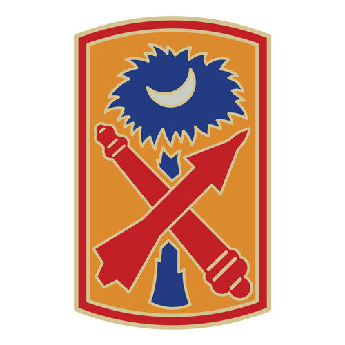 Combat Service Identification Badge Sticker - 263rd Air and Missile Defense Command Decal
