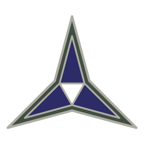 Combat Service Identification Badge Sticker - III (3rd) Corps Decal