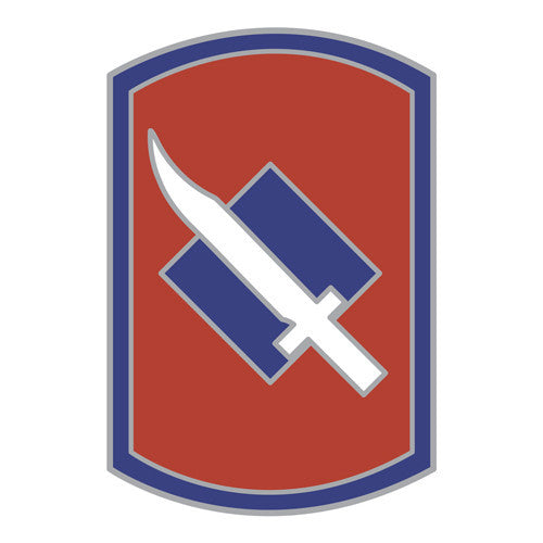Combat Service Identification Badge Sticker - 39th Infantry Brigade Decal