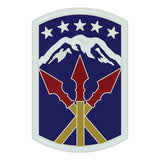 CSIB Sticker - 593rd Sustainment Brigade Decal