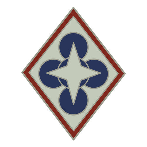 Combat Service Identification Badge Sticker - Combined Arms Support Command (CASCOM) Decal