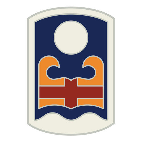 Combat Service Identification Badge Sticker - 92nd Maneuver Enhancement Brigade Decal