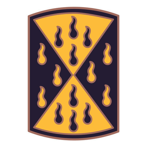 Combat Service Identification Badge Sticker - 464th Chemical Brigade Decal