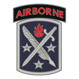 CSIB Sticker - 95th Civil Affairs with Airborne Tab Decal