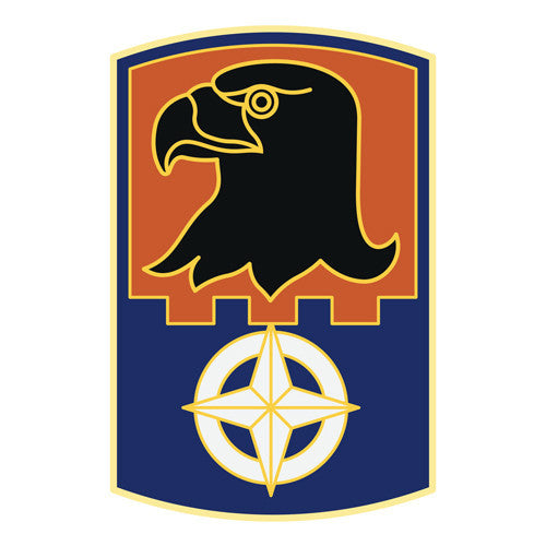 Combat Service Identification Badge Sticker - 244th Aviation Brigade Decal