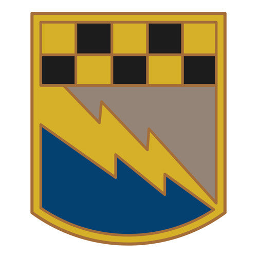 Combat Service Identification Badge Sticker - 525th Battlefield Surveillance Brigade Decal