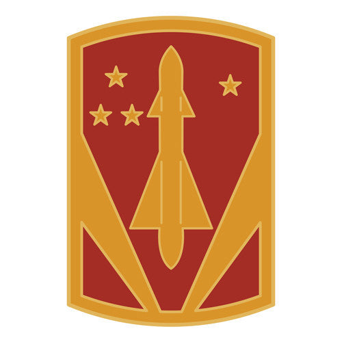 Combat Service Identification Badge Sticker - 31st Air Defense Artillery Brigade Decal