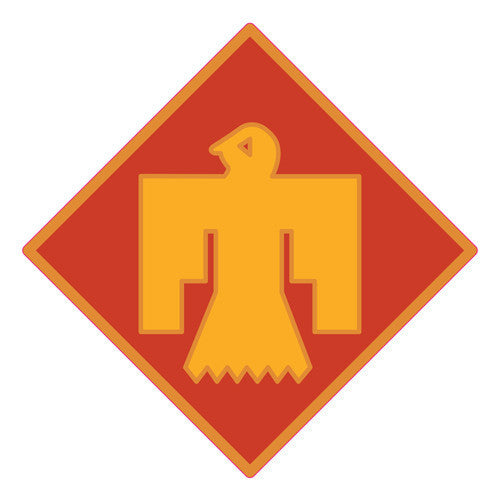 Combat Service Identification Badge Sticker - 45th Infantry Brigade Decal